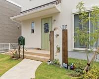 三重県津市の新築住宅のエクステリア