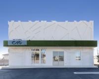 鈴鹿市、店舗併用住宅、新築美容院、外観が特徴的、APOA